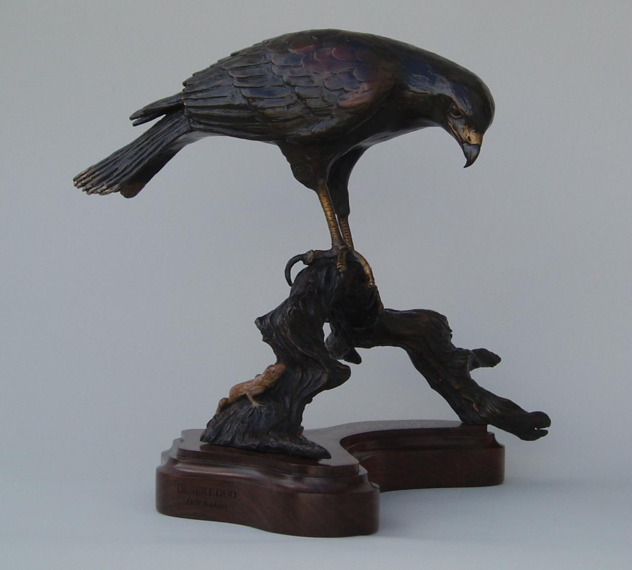 deb jenkins - bird sculptures